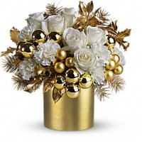 Belle of the Ball Christmas Bouquet