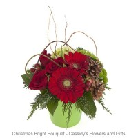 Christmas Bright Bouquet