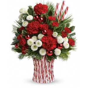Peppermint Sticks Bouquet