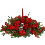 Ruby Red Christmas Bouquet