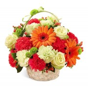 Best of Everything Basket Bouquet