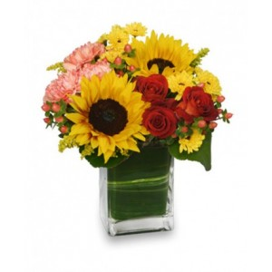 Fall Sunflowers Bouquet