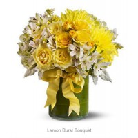 Lemon Burst Bouquet