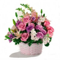 Basket of Gladness Bouquet