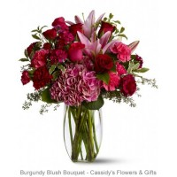 Burgundy Blush Bouquet