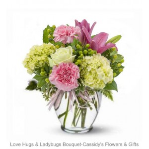 Love Hugs & Ladybugs Bouquet