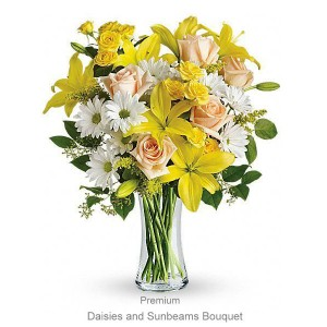 Daisies and Sunbeams Bouquet
