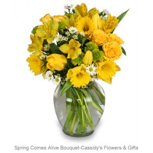 Spring Comes Alive Bouquet