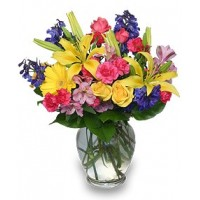 Rainbow of Blooms Bouquet