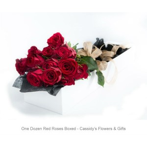 One Dozen Roses - Boxed