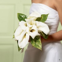 White Calla Lily Promise Bouquet