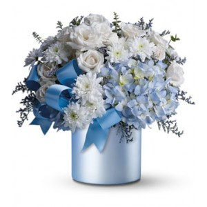 Sweet Baby Blue Bouquet