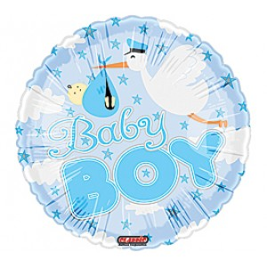 Mylar Balloon - Baby Boy