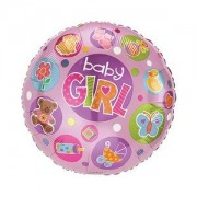 Mylar Balloon - Baby Girl
