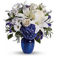Beautiful in Blue Bouquet