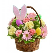 Easter Egg Basket Bouquet