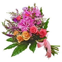 Fresh Seasonal Bouquet of Cut Flowers
